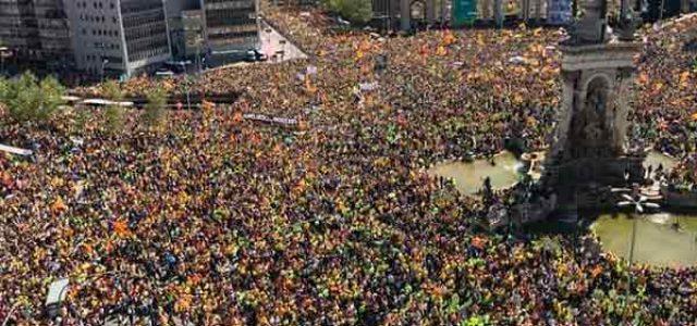 Catalunya – 15 de abril, una manifestación histórica ¡Más de un millón en Barcelona por la libertad de los presos políticos y el fin de la represión!