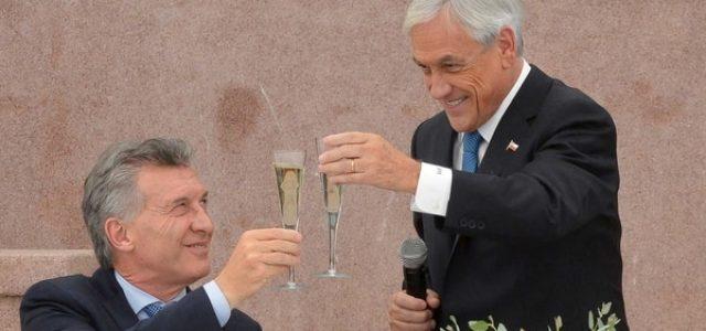 Macri y Piñera quieren convertir Sudamérica en una gran Alianza del Pacífico