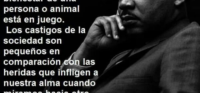 Estados Unidos –Cincuentenario del asesinato de Martin Luther King