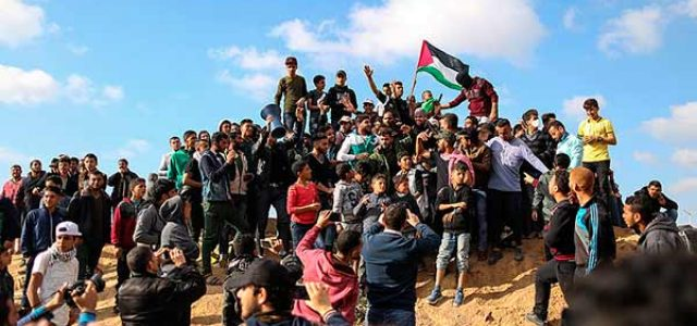 Israel / Palestina – El Gobierno Netanyahu responde a la movilización masiva en Gaza con una masacre