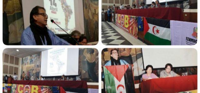 Cumbre de los Pueblos en Lima apoya la causa saharaui