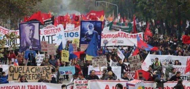 1 DE MAYO: POR LA UNIDAD Y LA CONSTRUCCION DE UNA ALTERNATIVA POLITICA DE LOS TRABAJADORES.