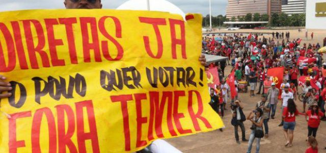 Brasil –La urgencia de una alternativa