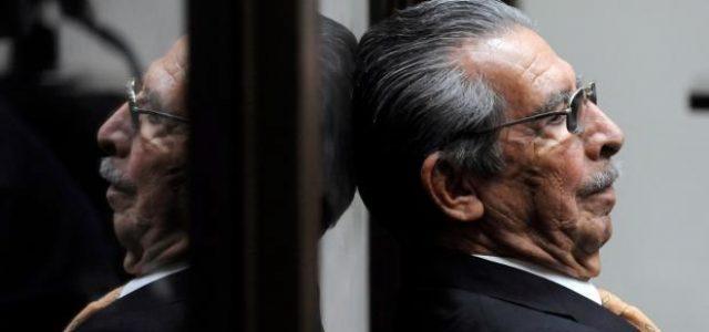 Guatemala- Muere el dictador guatemalteco Efraín Ríos Montt, que estaba siendo juzgado por genocidio