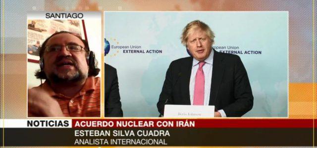 Esteban Silva : «Retirada de EEUU de Acuerdo nuclear con Irán afecta a la ONU»