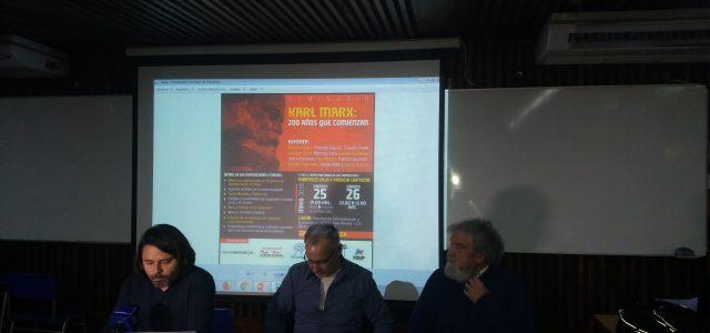 Video Seminario KARL MARX 200 Años Exponen: Alberto Mayol y Orlando Caputo. 1er día
