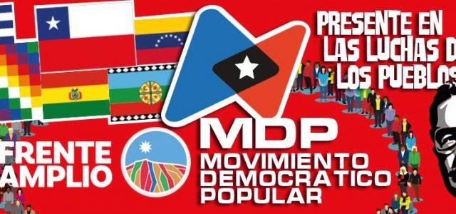MDP propone al Frente Amplio rechazar modificaciones del TLC Chile-Canadá en la Cámara de Diputados