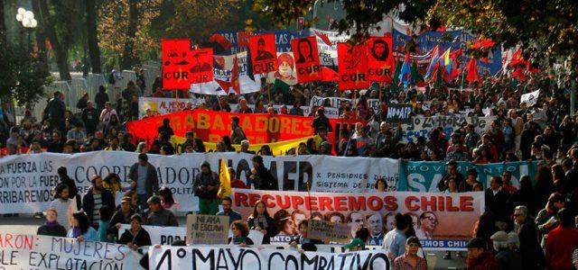 Chile – Conmemorando el 1º de Mayo, y luchando por las reivindicaciones de hoy