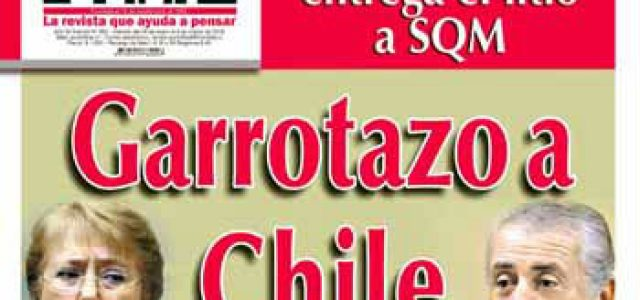 Chile – Destrucción de Punto Final