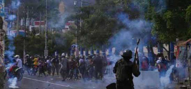 Nicaragua –  el régimen de Daniel Ortega responde a la movilización de masas con una brutal represión