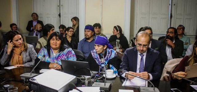 """Dirigente Mapuche Héctor Llaitul en el Congreso: """"Ustedes, representantes de la oligarquía, están cosechando lo que han sembrado"""""""