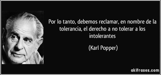 Chile – ¿Tolerar a los intolerantes?