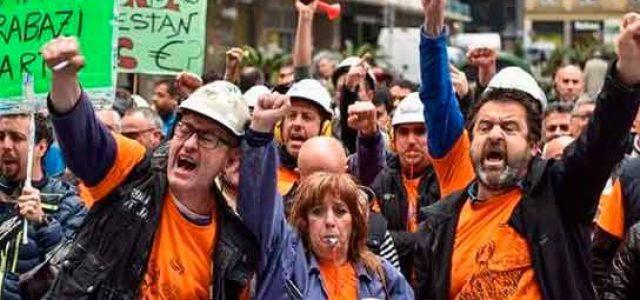 Estado Español – Basta de desmovilización sindical • ¡Huelga general, ya!