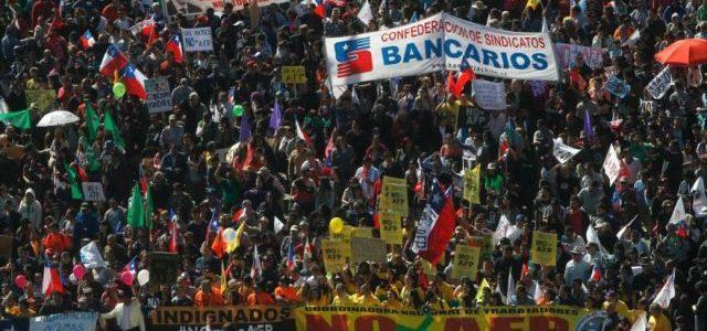 Chile – Manifiesto por la unidad y acción sindical:  Frente Sindical CNT NO+AFP
