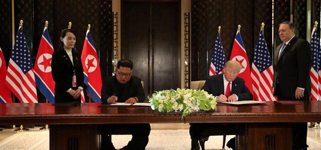 Cumbre  entre Kim Jong-un y Donald Trump en Singapur