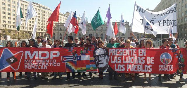 Chile – MDP: Prioridades para la acción política y legislativa del Frente Amplio.