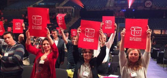 Confederación de Sindicatos de Trabajadores Bancarios y Afines de Chile  CSTEBA en 5º Congreso Mundial de UNI