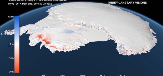 El hielo de la Antártida se derrite a mayor velocidad y amenaza a ciudades costeras de todo el mundo