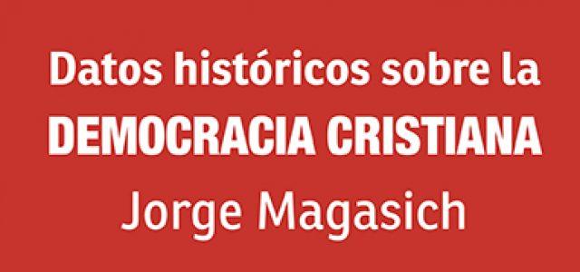 Chile – NUEVO LIBRO:Datos históricos sobre la DEMOCRACIA CRISTIANA