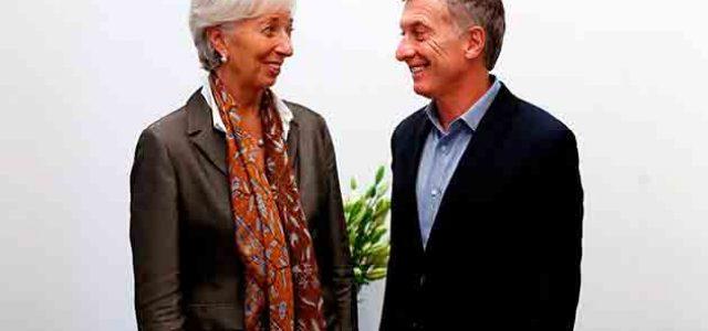 El gobierno argentino acuerda con el FMI hundir las condiciones de vida del pueblo