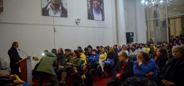 Chile – Discurso de Luis Mesina en el lanzamiento de la Iniciativa Popular de Ley NO + AFP