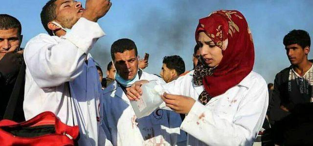 Israel / Palestina – Un francotirador israelí mata a la enfermera palestina de 21 años Razan al-Najjar
