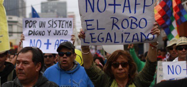 Chile – Las AFP fracasan una y otra vez.