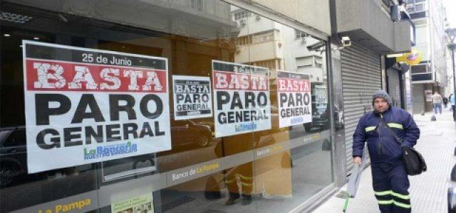 Argentina se paraliza por huelga general contra gobierno de Macri