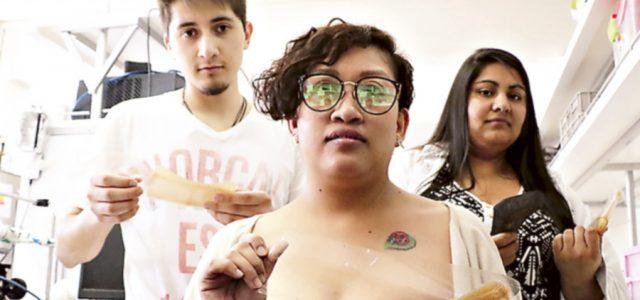 Estudiantes chilenos crean plástico biodegradable a base de alcachofas y que sirve como abono para la tierra