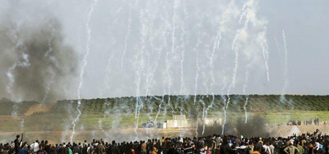 Palestina .«No se trata de enfrentamiento, sino de una masacre»