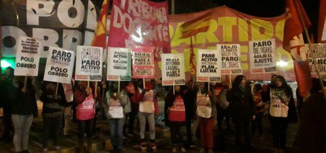 Argentina – El sindicalismo combativo y la izquierda hicieron paro activo