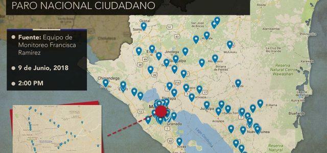 Nicaragua –Negativa de Ortega arrecia la protesta nacional, transportistas internacionales podrían cerrar fronteras