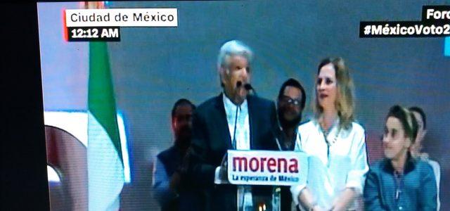 México: Histórico y contundente triunfo de Manuel López Obrador