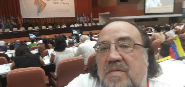 Video: XXIV Foro de Sao Paulo en Cuba. Desde la Habana habla Esteban Silva