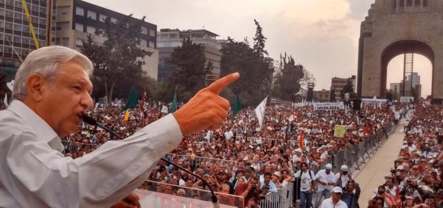México –La sociedad mexicana frente al proyecto político de AMLO