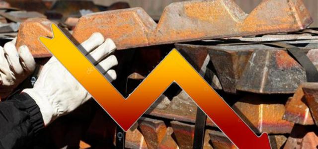 El cobre en caída libre por guerra comercial entre EEUU y China