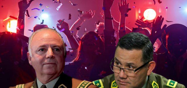 Chile – Generales de carabineros compraban regalos para matrimonios, cumpleaños y vinos con dineros de institución