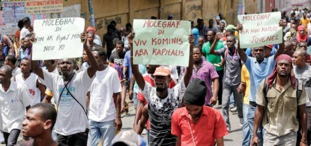 Haití –Huelga general en Puerto Príncipe: manifestantes piden la renuncia del presidente