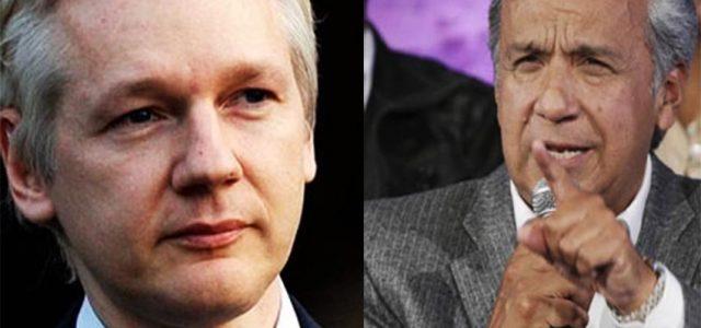Presidente de Ecuador asegura que Assange tendrá que abandonar embajada en algún momento