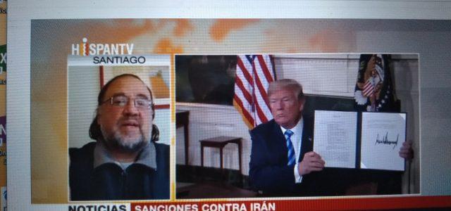 Esteban Silva: Contra Irán,Trump no tiene argumentos e implementa sanciones unilaterales.