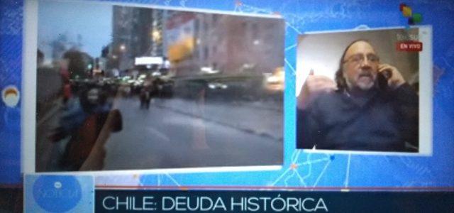 """Esteban Silva sobre la movilización nacional de los profesores: """"privatización instaurada en Chile hace décadas se profundiza"""""""