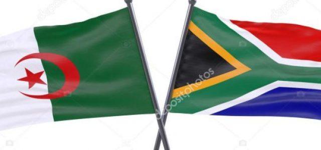 Argelia y Sudáfrica reafirman su apoyo a la lucha por la autodeterminación del pueblo saharaui y a Palestina.