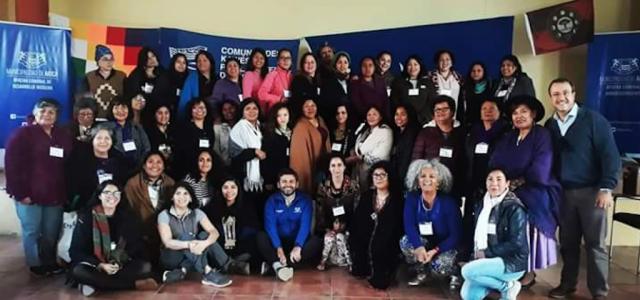 Chile – Mujeres indígenas y Afrodescendientes apoyan al pueblo Kawésqar en su lucha por la defensa del mar