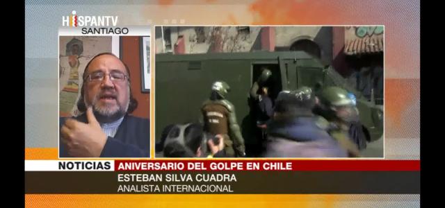 Esteban Silva analiza los 45 años del golpe militar contra Salvador Allende.