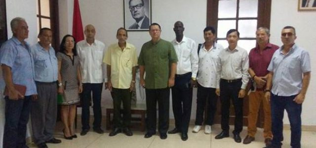 Homenaje al cro Presidente Salvador Allende uno de los fundadores de la OSPAAAL (Tricontinental). Por Lourdes Cervantes Sec General OSPAAAL, La Habana, Cuba