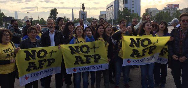 Masiva y exitosa Protesta Nacional convocada por NO más AFP.