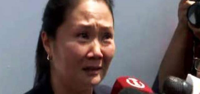 Perú – Keiko Fujimori es detenida en Perú por lavado de activos junto a otras 19 personas