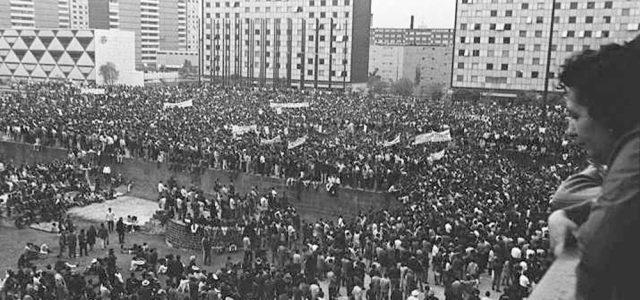 Reportaje –50 años de la masacre de Tlatelolco: el octubre rojo mexicano