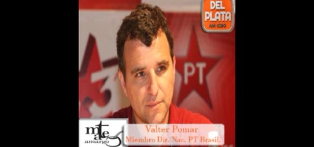 Bolsonaro es un fascista y ultra neoliberal. Análisis (en español) del Balotaje en Brasil por Valter Pomar dirigente del PT