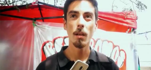 Chile – Quintero: Habla Alejandro Castro líder de la protesta de Quintero que apareció muerto